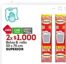 Oferta de Bolsas Superior por $1000