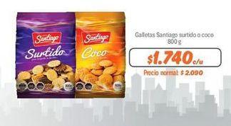 Oferta de Galletas Santiago por $1740