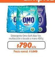 Oferta de Detergente Omo por $790
