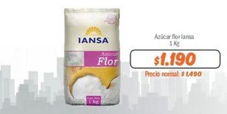 Oferta de Azúcar flor Iansa por $1190