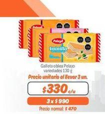 Oferta de Galletas oblea Pelayo por $330