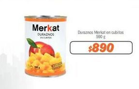 Oferta de Duraznos Merkat por $890