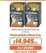 Oferta de Pañales para adultos Cotidian por $14945