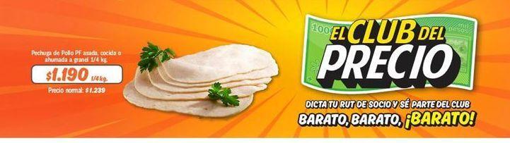 Oferta de Pechuga de pollo PF por $1190