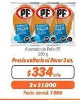 Oferta de Apanado de pollo PF por $334