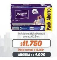 Oferta de Pañales para adultos Plenitud por $11750