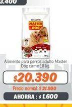 Oferta de Alimento para perros Master Dog por $20390