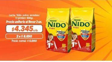 Oferta de Leche Nido polvo por $4345