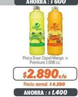Oferta de Pisco sour Capel por $2890