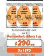 Oferta de Rebozado de pollo Sadia por $290