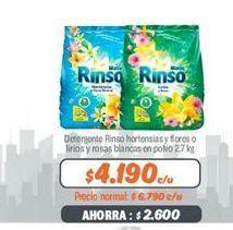 Oferta de Detergente Rinso por $4190