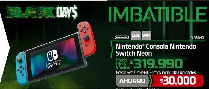 Oferta de Consola portátil Nintendo por $30000