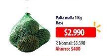 Oferta de Paltas malla 1kg por $2990