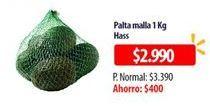 Oferta de Palta malla 1 kg por $2990