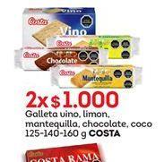 Oferta de Galletas Costa por $1000