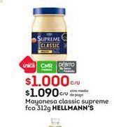 Oferta de Mayonesa Hellmann's por $1090