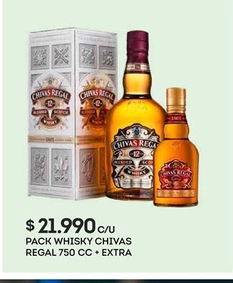 Oferta de Whisky Chivas Regal por $21990