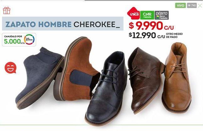 Oferta de Zapatos hombre cherokee por $9990