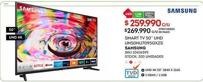 Oferta de Smart tv Samsung por $2599990