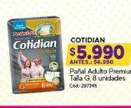 Oferta de Pañales para adultos Cotidian por $5990