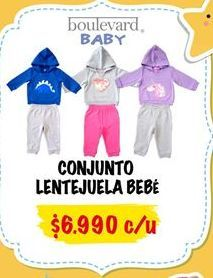 Oferta de Conjunto bebé por $6990