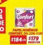 Oferta de Papel higiénico Confort por $184