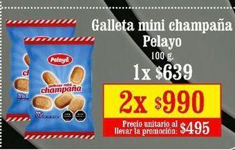 Oferta de Galletas PELAYO por $639