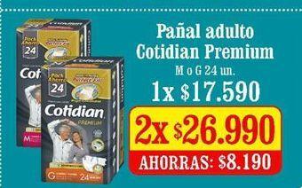 Oferta de Pañales para adultos Cotidian por $175090