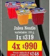 Oferta de Jalea Nestlé por $319