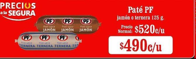 Oferta de Paté PF por $490