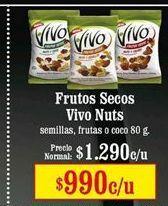 Oferta de Frutos secos nuts por $990