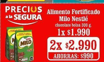Oferta de Suplementos alimenticios Milo por $1990