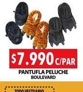 Oferta de Pantufla Peluche BOULEVARD por $7990