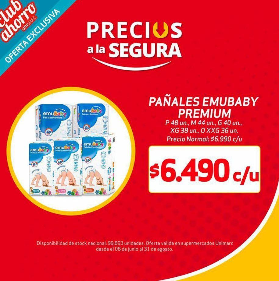 Oferta de Pañales emubaby por $6490