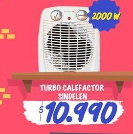 Oferta de Turbo calewfactor SINDELEN por $10990