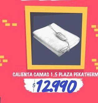 Oferta de Calientacamas 1,5 PLAZA pekatherm por $12990