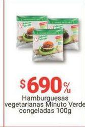 Oferta de Hamburguesas Minuto Verde por $690