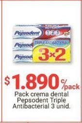 Oferta de Crema dental Pepsodent por $1890