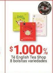 Oferta de Té ENGLISH TEA por $1000