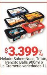 Oferta de Helados variedades por $3399