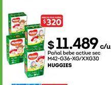 Oferta de Pañales Huggies por $11489