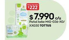 Oferta de Pañales Tottus por $7990
