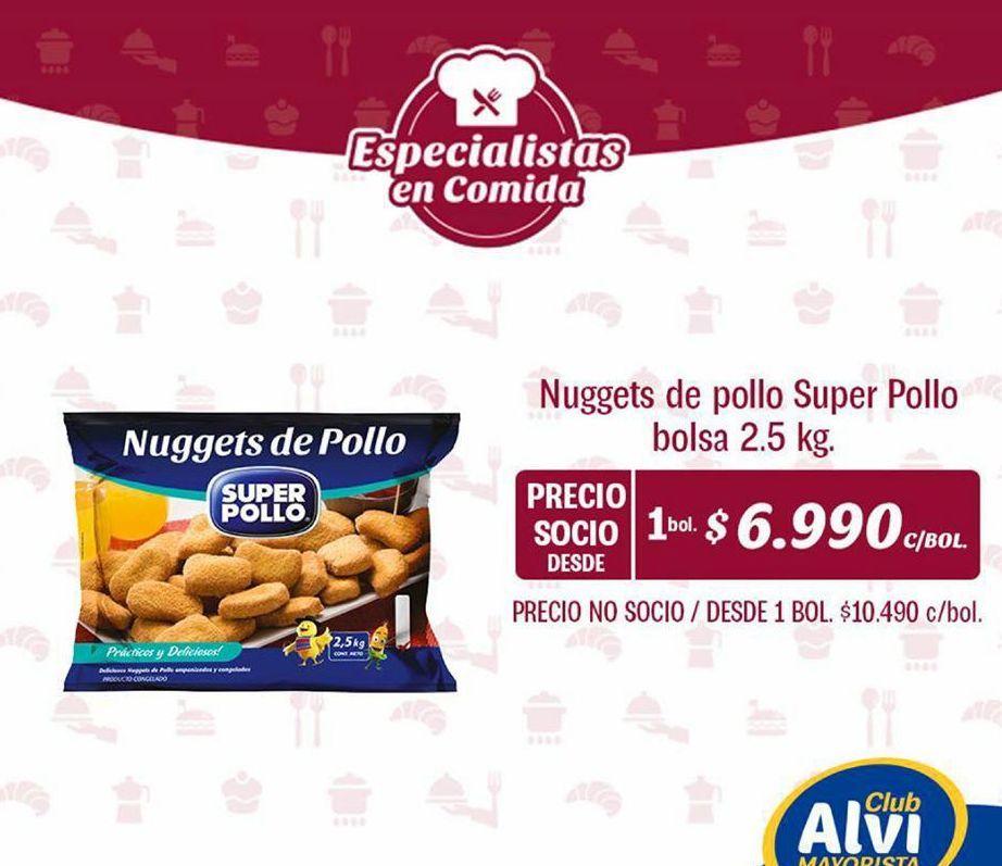 Oferta de Nuggets Súper Pollo por $6990