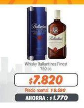 Oferta de Whisky Ballantines por $7820