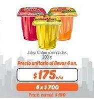 Oferta de Jalea  Colun por $175