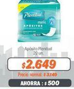 Oferta de Apósitos Plenitud por $2649