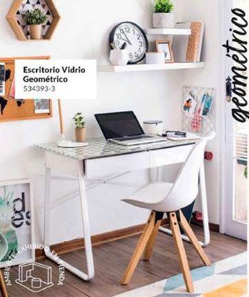 Oferta de  escritorio vidrio geometrico por