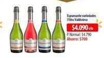 Oferta de Vino espumante Valdivieso por $4090