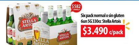 Oferta de Cervezas Stella Artois por $3490