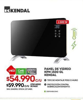 Oferta de Paneles Kendal por $54990